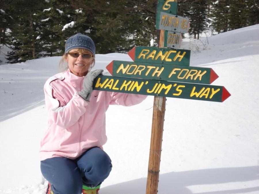 Leslie On Walkin Jims Way - 2