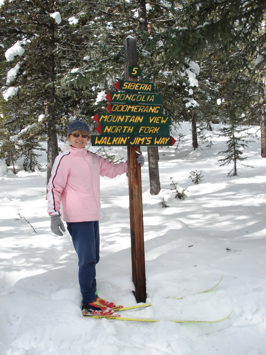 Leslie On Walkin Jims Way