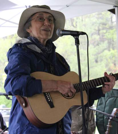 Jim's sister Susan Grace performs at the AT Museum Exhibit Opening