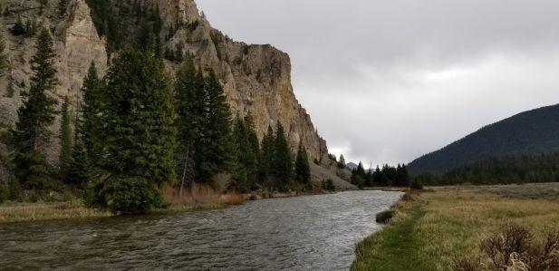 Gallatin river small