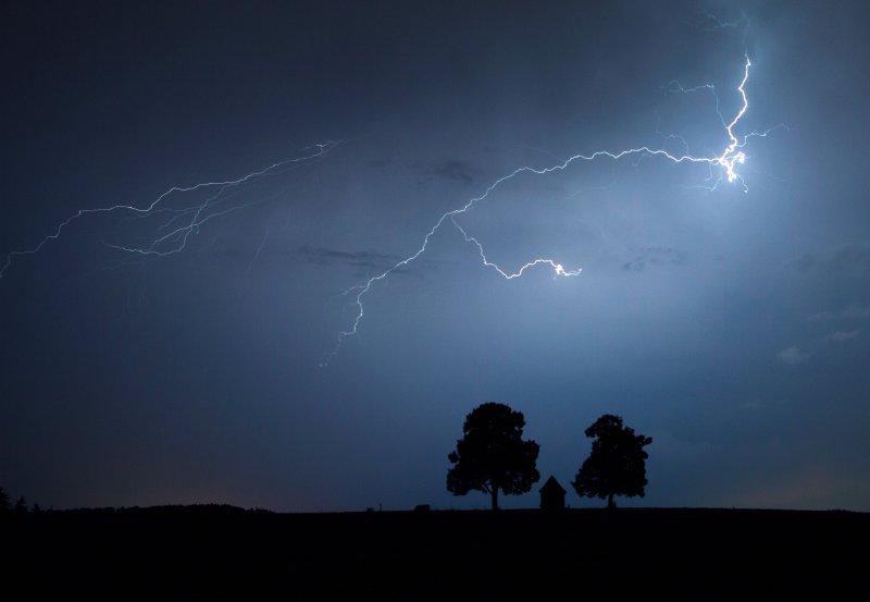 Thunderstorm near Rottweil